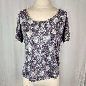 Calvin Klein Comfy Everyday T Shirt Boho Print